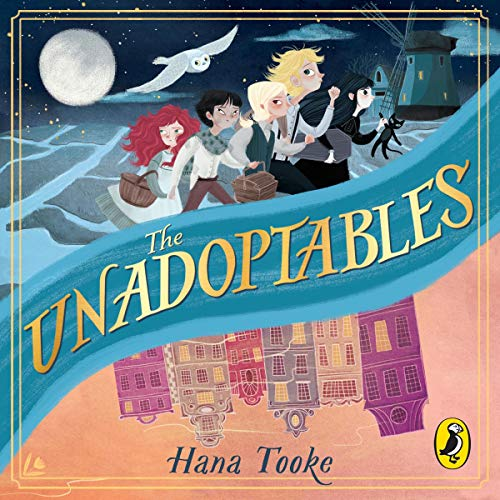 The Unadoptables audiobook cover art