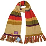 Doctor Who Scarf - Fourth Doctor (Tom Baker) Shorter Scarf - Official BBC Licensed Merchandise by LOVARZI
