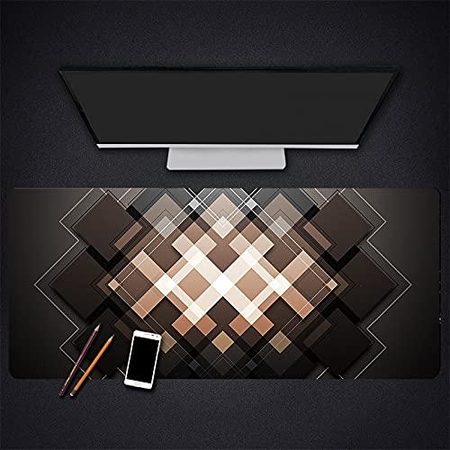 Alfombrilla para ratón para Juegos Alfombrilla para Ordenador portátil para Oficina Alfombrilla para Teclado para Juegos Escritorio, Superficie Impermeable de Goma antideslizante-900x400x3mm
