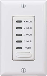 Intermatic EI220W Countdown Timer, 1/2/4/8 Hour, White