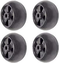 (4) Deck Wheel Rollers for John Deere 717A 717E 727A 737 757 777 797 Ztrak