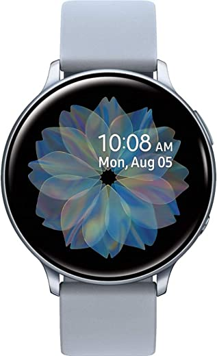 Samsung Galaxy Watch Active 2 -Aluminium, 44 mm (Cloud Silver)