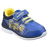 Leomil - Zapatillas Deportivas Modelo Minions para niños (26) (Azul/Azul Marino)