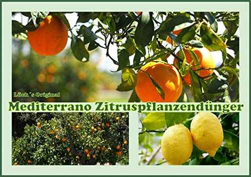 Zitrusdünger, Zitruspflanzendünger, Zitronendünger / Orangendünger10 Kg Original Mediterrano