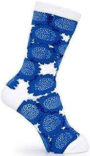 ルネ?デュー 靴下 北欧デザイン Studio Hilla ソックス クッキア ブルー 37430013