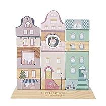 Little-Dutch-4429-4-piezas-Bloques-de-construccion-de-juguete-Multicolor-Madera-4-piezas-Imagen-Child-Chica