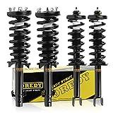 OREDY Shocks Struts Full Set 4Pcs Front Rear Struts 172563 15180 SR4174 SR1473 Shocks Coil Spring...