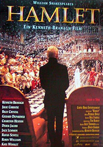 Hamlet - Kenneth Branagh - Kate Winslet - Filmposter A3 29x42cm gerollt