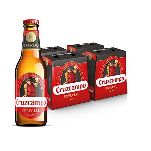 Bier Cruzcampo Especial 24x25cl (Pack 24 Flaschen)