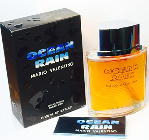 Ocean Rain Cologne By Mario Valentino for Men 100ml / 3.3 Oz Cologne Spray