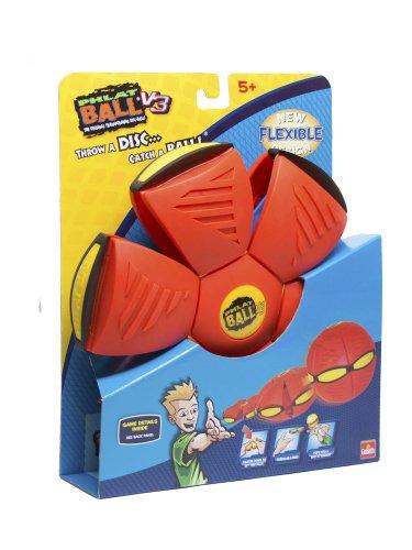 Goliath Phlat Ball V3 Solid Red / Blue Bumper Sports