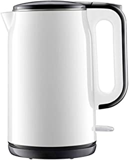 LJBH Constant Temperature Double Layer Anti-scalding Electric Kettle, 1.7L, Apricot Color, White, Black, Stainless Steel,S...