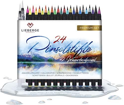 LIEBERGE Pinselstifte Premium-Set