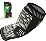 Sidex Elbow Brace Compression Sleeve, Arm Support for Tendonitis, Golf, Bowling,...