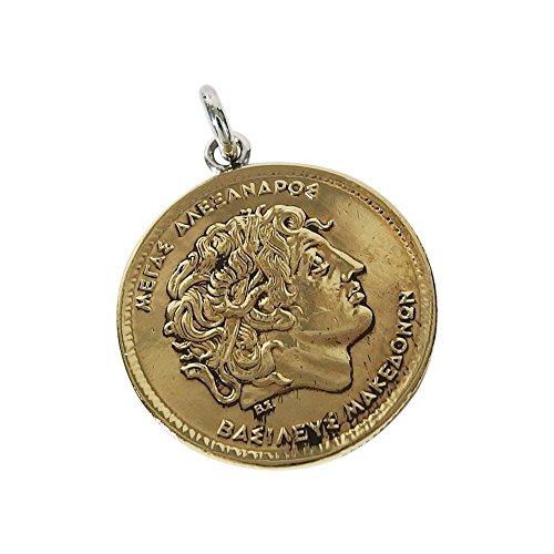 本物のギリシャのコインペンダント(1) コイン 硬貨 アクセサリー メンズ レディース 海外
