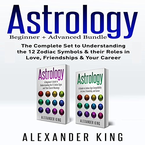 Astrology: 2 Books in 1! audiobook cover art