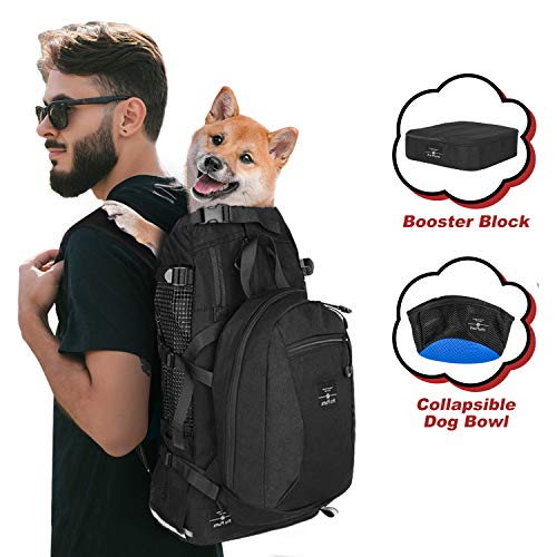 PROPLUMS Dog Carrier Backpack for Small and Medium Dogs Multifunction Pet Sport...