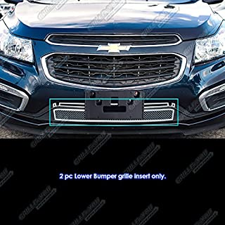 APS Compatible with 2015-2016 Chevy Cruze Lower Bumper Stainless Steel Mesh Grille C76343T