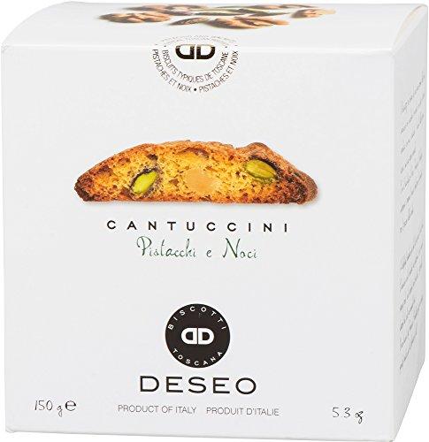 Antonio Mattei Snc Cantuccini - Mandelgebäck mit Walnuss und Pistazien, 150 g