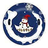 Skiing Ring for Winter Sports with Handle Inflatable Winter...