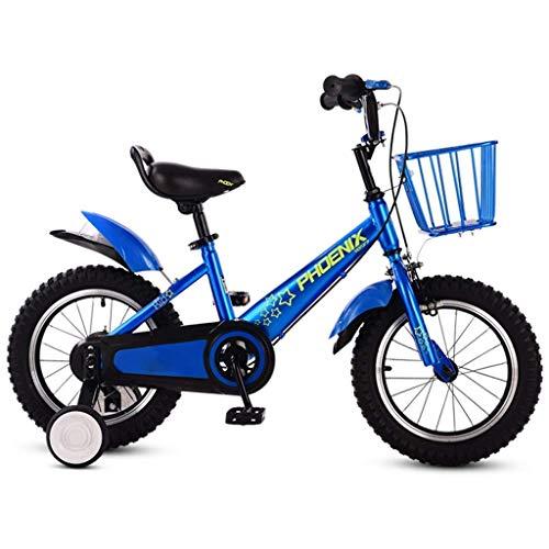 WZLJW Las Bicicletas Plegables de Lquide Infantiles for niños y niñas Bicicletas 3-6-7-8-10 años Los niños de Bicicletas YCLIN ggsm (Color : 16in 1)