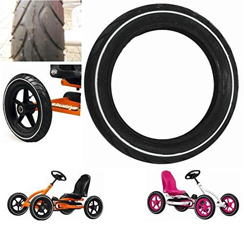 Berg 4 Stück Go Kart Reifen Slick 12.5x2.25 Ersatzteil zu Buddy Junior 42.26.12.23 weißwand