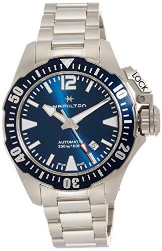 Hamilton Reloj de Pulsera Deportivo para Hombre Khaki Navy Frogman H77705145, 80 Horas de Reserva de Marcha.