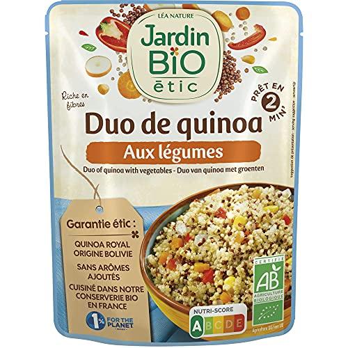 Jardin Bio Duo de Quinoa aux Légumes 250 g