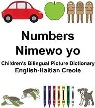 English-Haitian Creole Numbers/Nimewo yo Children's Bilingual Picture Dictionary