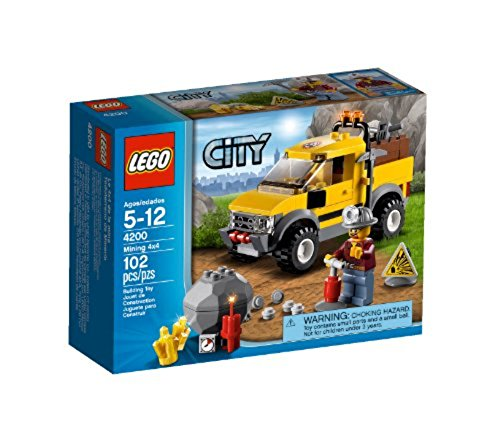 LEGO City 4200 - Gruben, Geländewagen