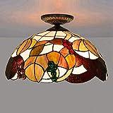 2020 Latest Design 40 cm in stile europeo multicolore marrone occhiali Tiffany grafie ristorante Lobby camera bagno applique da parete in vetro