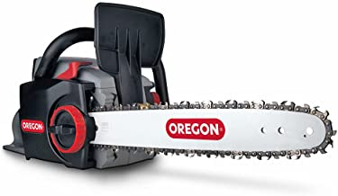 OREGON CS300 Cordless Lithium Ion Battery Chainsaw, Powerful Rechargeable Saw with PowerSharp Self-Sharpening System - Too...
