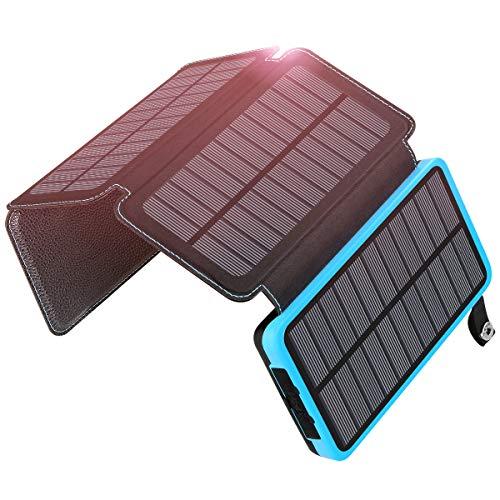 meilleur chargeur solaire ADDTOP Chargeur Solaire 24000mAh
