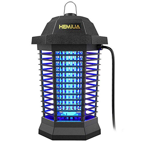 HEMIUA Bug Zapper for Outdoor and Indoor, Waterproof Mosquito Zappers Killer, Electronic Fly Insect Trap for Home, Garden, Backyard, Patio