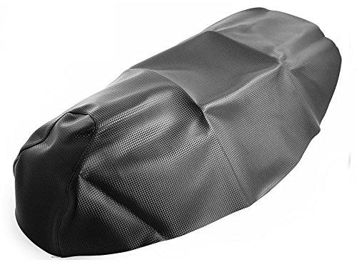 Carbon-Look Sitzbezug Piaggio NRG MC3, mc3, mc³, MC3 Purejet (alle Baujahre) / NRG MC2 Extreme (Baujahr 1999-2000)