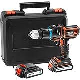 Black+Decker MT188KB-GB - Multievo 18V Taladro Percutor Con Batería Adicional