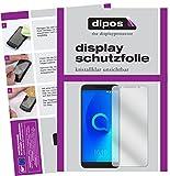 dipos I 2X Schutzfolie klar kompatibel mit Alcatel 3V Folie Bildschirmschutzfolie