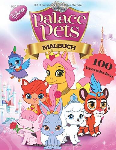 Disney Princess Palace Pets Malbuch: Malbuch Mit Exklusiven Inoffiziellen Bildern Für Alle Fans - 50 Ausmalseiten