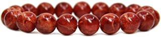 Amandastone Natural Genuine Semi Precious Gemstones Healing 10mm Beaded Stretch Bracelet 7