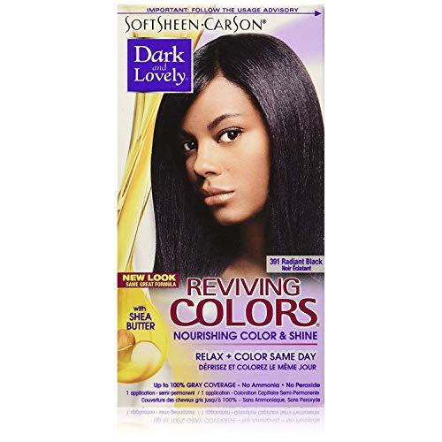 Dark & Lovely Rev. Couleur # 391 Noir éclatant directions