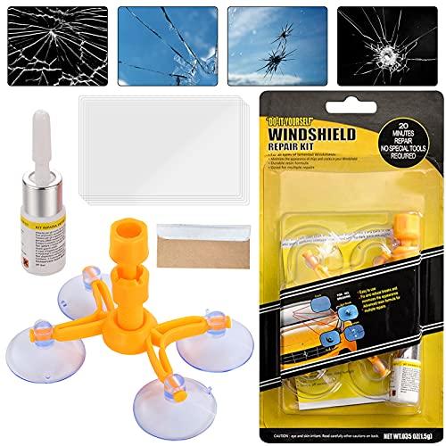 XUELI Windshield Repair Kit, Windshield Crack Repair Kit Quick Fix for Fix Windshield Auto Glass...