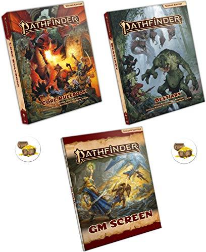 Paquete de Pathfinder 2da edición Hardback Core Rulebook, Hardback ...