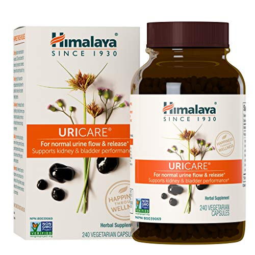 Himalaya UriCare/Cystone for Caffeine-Free, Kidney and Urinary Tract Support for Men and Women, 840 mg, 240 Capsules, 2 Month Supply