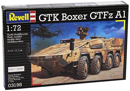 Revell 03198 Modellbausatz Panzer 1:72 - GTK BOXER GTFzA1 im Maßstab 1:72, Level 4, originalgetreue Nachbildung mit vielen Details