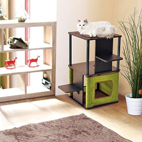ペティオ(Petio)ネココキャットリビングタワーロータイプ