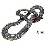 LINGLING-Piste Track Racing Slot Car Toy Circuits enfants Voiture électrique Track Racing véhicule jouet Playsets cadeau de Noël Parent-enfant interactif Toy Boy cadeau d'anniversaire électrique Creat