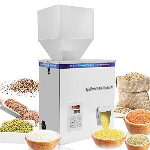 Hanchen 5-500g Pulver Füllmaschine Partikel Wiegemaschine Automatische Flasche Beutel Pulverfüller für Tee Samen Körner Pulver 220V