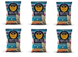 Siete Sea Salt Grain Free Tortilla Chips, 5 oz bags (6 PACK)