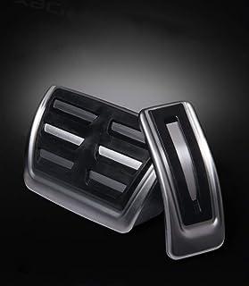 Für A4/A5/A6/A7/Q5 Auto Bremse Gaspedal Pedalabdeckung Pedalkappe Pedalset Aluminiumlegierung PPE Gleitschutz AT zwei