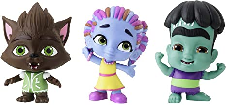 Netflix Super Monsters Set of 3 Collectible 4-inch Figures Monster Trio (Amazon Exclusive)